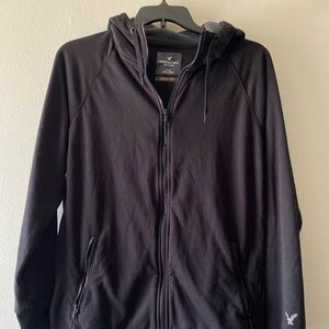 Men's American eagle black active flex hoodie